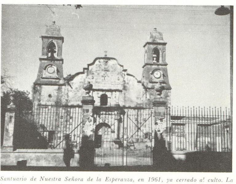 Santuario de Ntra. Señora de la Esperanza Jacona de Plancarte Mich.