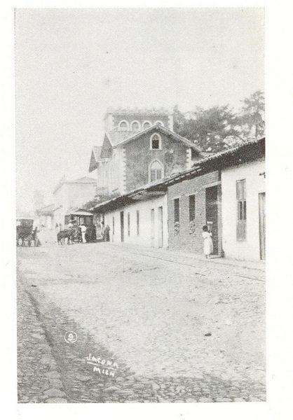 Calles de Jacona de Plancarte, Mich.
