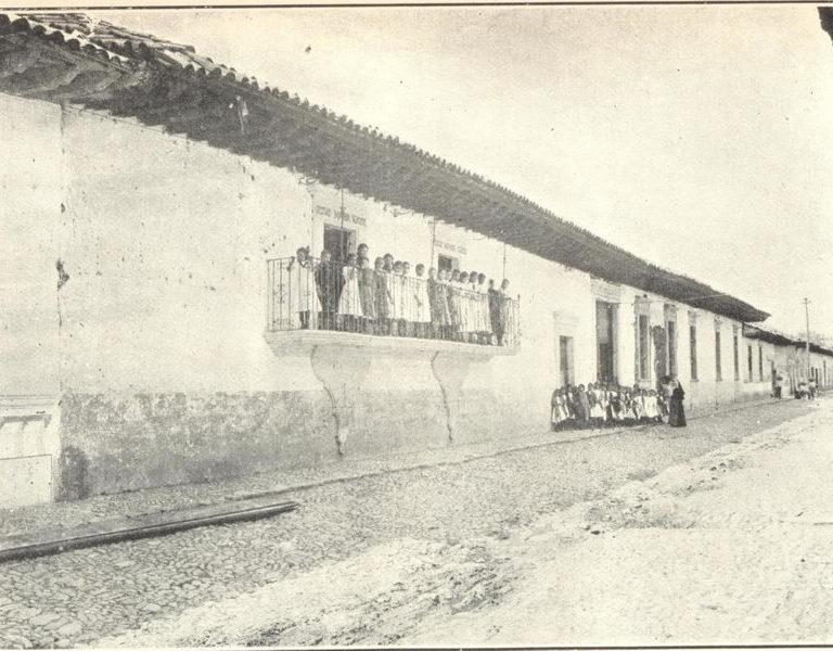Asilo de San Antonio Jacona de Plancarte, Mich.