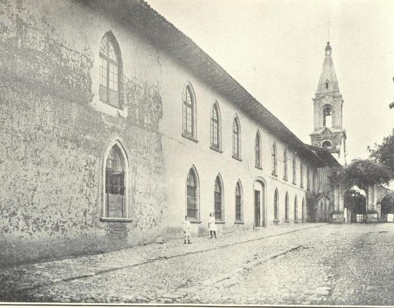 Colegio de San Luis Gonzaga, hoy Colegio Plancarte,  Jacona de Pancarte , Mich.