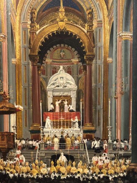Colegiata de Guadalupe, restaurada por JAP para la coronación. México, D.F.
