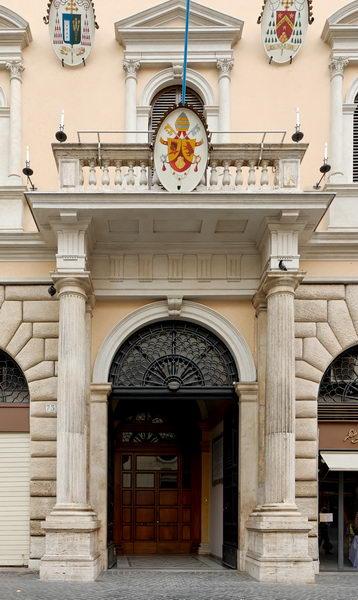 Academia Eclesiastica  para nobles, Roma.
