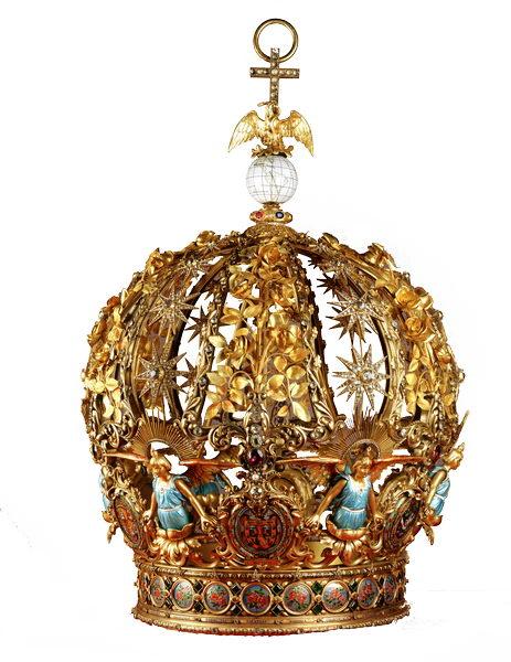 Corona con la que se coronó Nuestra Señora de Guadalupe